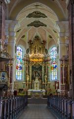 Église abbatiale Saint Cyriaque d'Altorf - La riche nef