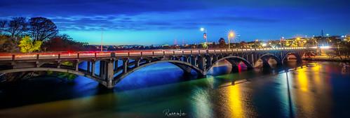 Austin, Texas - Lamar Boulevard Bridge Over The Colorado River