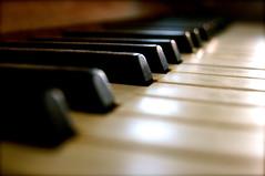 Piano Keys Music Instrument Old Edited 2020