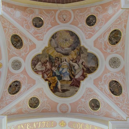 Église abbatiale Saint Cyriaque d'Altorf - La pentecôte