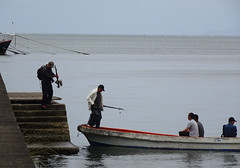 Men Going Fishing