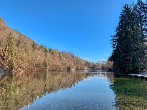 Lake Stimmersee near Kufstein, Tyrol, Austria