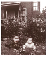 Jimmy & Eileen, back in the Bronx, about 1948