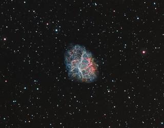 Messier 1 Crab Nebula