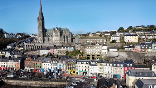 cobh from on high