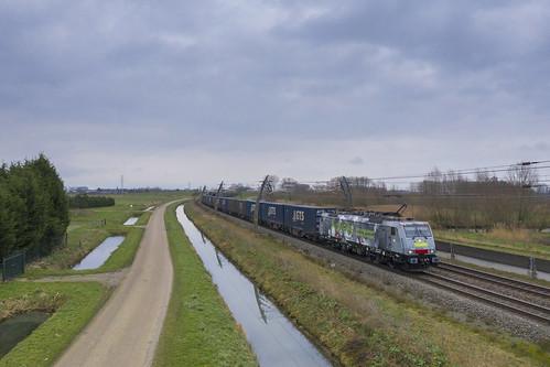 SBB Cargo 189 994, Kesteren (NL)