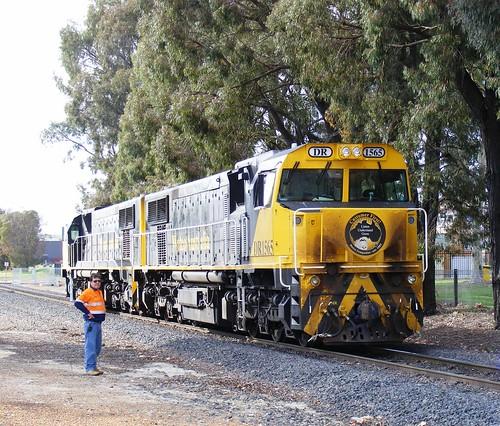 Watco DR1565/1564 Collie, Western Australia 11 Sept 2019