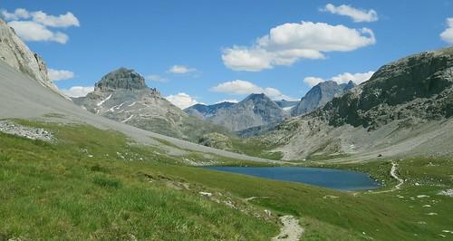 Lac Rond (au sud-est du Col de la Vanoise).