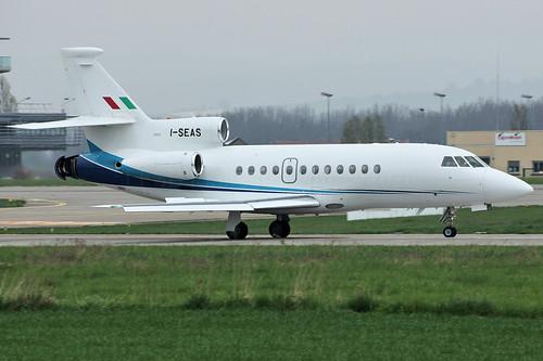 I-SEAS (cn 192) Dassault Falcon 900EX Servizi Aerei