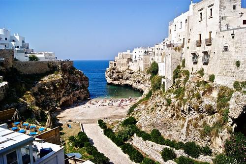White Cliffs, Polignano a Mare, Italy