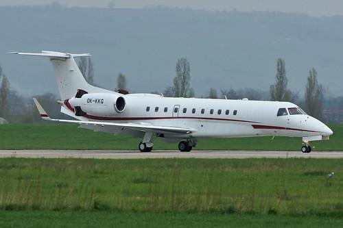 OK-KKG (cn 14500873)Embraer EMB-135BJ Legacy Grossmann Jet Service