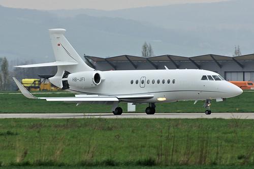 HB-JFI(cn 256) Dassault Falcon 2000LX Jet Aviation Business Jets