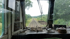 View from the Spa Valley Railway Class 101 DMU