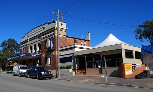 Lambton Park Hotel, Lambton, Newcastle, NSW.