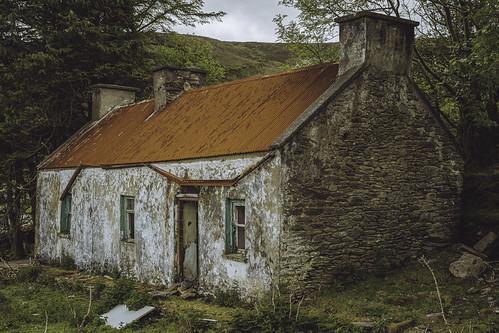 Abandoned irish cottage