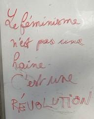 """""""Le féminisme n'est pas une haire, c'est une révolution"""" Ménilmontant 2020"""