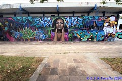 graffiti - Escola Candido Portinari 2020