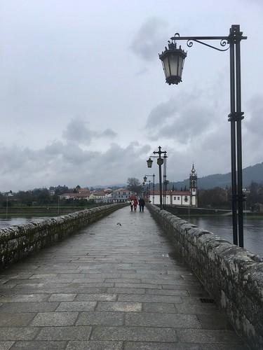 Lamppost on the Ponte de Lima