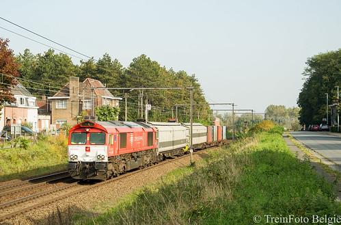Crossrail DE6312 Wetteren