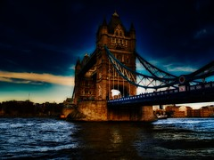 Mysterious London Tower Bridge