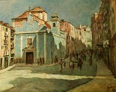 Largo da Senhora da Saúde (1939) - Albertino Guimarães (1891-1967)