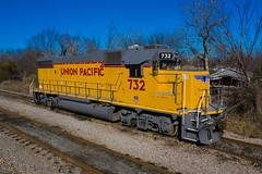 UP 732 - Dallas Texas
