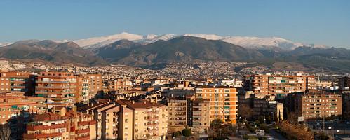 Desde la torre de la Ciudad de las Ciencias (Granada)