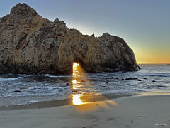 THE Key Hole Arch Pfeiffer Beach