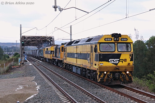 IMG_3022 G513 602 GM22 RL305 train GM27 8049 Cockle Creek 6KN2 19.1.20_1