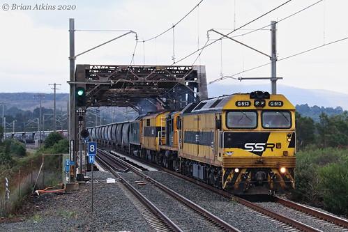 IMG_3019 G513 602 GM22 RL305 train GM27 8049 Cockle Creek 6KN2 19.1.20_1
