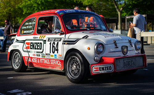 'Barty' the 1963 Fiat Abarth Berlina Corsa 1000cc