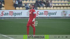 Segunda B. Villarreal CF B 1-0 Hércules CF (18/01/2019), Jorge Sastriques