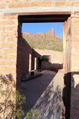 Entering to Alamo Canyon house