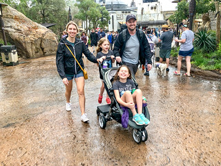 A rainy one for our last day at Disney World but smiles all around from the crew.