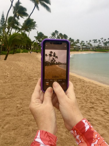 Napili Bay Beach from my Lifeproof Case on iPhone 11 Pro