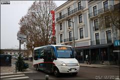 Gepebus Oréos 2x – STAC (Société de Transport de l'Agglomération Chalonnaise) (Transdev) / Zoom n°2115