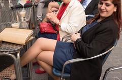 Sexy dress showing legs of Estitxu