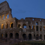 Colosseo by night - https://www.flickr.com/people/57559628@N02/