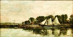 Marine (1875) - Eugéne Boudin (1824-1898)