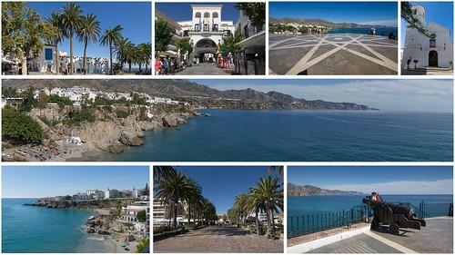 Montage - Nerja, Costa Del Sol, Espagne, Spain - 25367