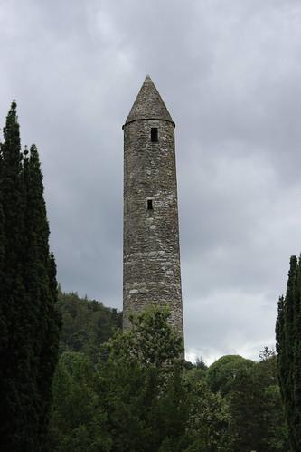 Glendalough round tower