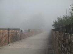 Autumnal mists on Hockley Viaduct