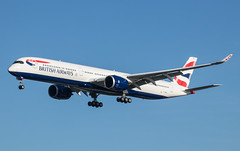 EGLL - Airbus A350 - British Airways - G-XWBD