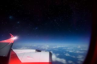 A little bit closer to the stars ✨✈️