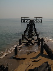 Disused pier, Pak Nam Pran, Thailand