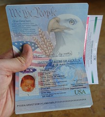 Passport for a One Month Old Baby