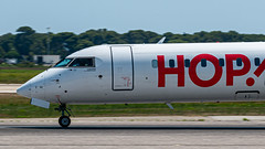 Bombardier CRJ-1000 HOP! - Photo of La Crau