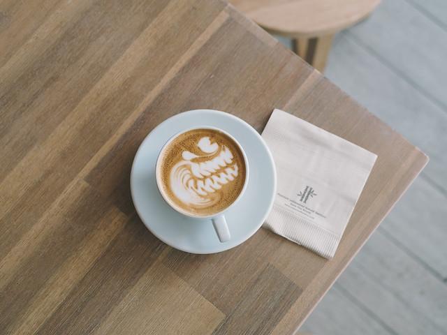 Beautiful Coffee Shop in Singapore. The Glasshouse Specialty Coffeeand Toast Bar #Singapore #kinfolk #barista #vsco #cafehoppingsg