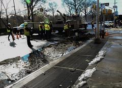 NYC Transit Response to Upper West Side Water Main Break