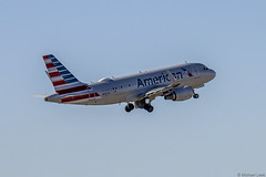 American Airlines Airbus A319-115, N9026C; DFW International Airport, Dallas, Texas, USA
